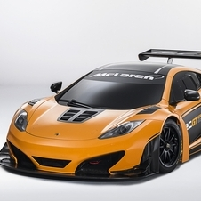 Modelo é baseado no MP4-12C GT3 mas é mais potente
