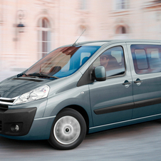 Citroen Berlingo Multispace and Dispatch Combi Refreshed for 2012