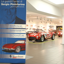 Ferrari has had an exhibit celebrating Pininfarina