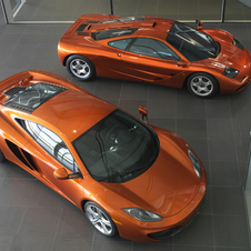 The F1 and its younger brother the MP4-12C