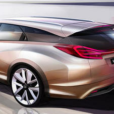 Honda says that the Civic Wagon concept will see production and look a lot like this