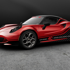 Alfa Romeo 4C Safety Car WTCC