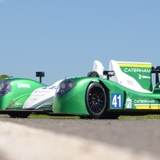 The car will be the first time for the Caterham brand at Le Mans