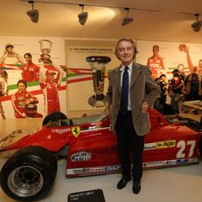 The exhibit collects all of Ferrari's GT cars from the 70s to today