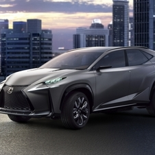 The latest version of the LF-NX uses a 2.0-liter turbocharged four-cylinder engine