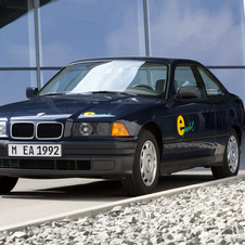 Two generations of the electric E36 were made with two different batteries