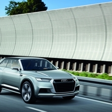 Audi's Crosslane concept previewed the look of its smaller crossovers