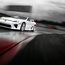 The LFA has been racing since 2008