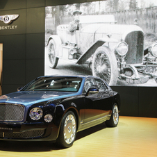 The Mulsanne Diamond Jubilee Edition was unveiled at Bentley's new dealer in Beijing