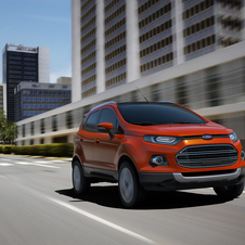 The EcoSport is expected to be the biggest seller of the crossovers worldwide