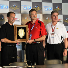 The Schwitzer award honors annual achievements in race car engineering