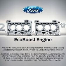 The EcoBoost engine is made around the world and new locations will be added in the next 12 months
