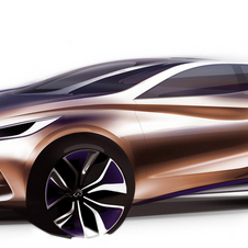 The Q30 is Nissan's concept for a premium hatchback that will be shown in Frankfurt