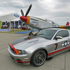 It is the fifth car that Ford has created for AirVenture