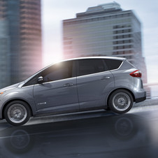 The C-Max Hybrid is available for order now in the US