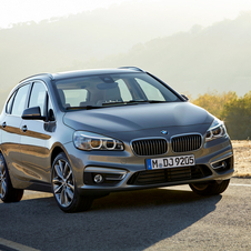 New BMW 2 Series 2 Active Tourer will compete directly with the Mercedes B-Class