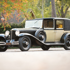 Cord L29 Town Car by d'Ieteren Freres
