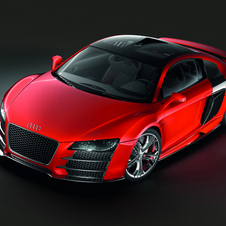 This is Audi's R8 Le Mans concept