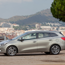 Kia will launch all of the variations of the Cee'd in 2013