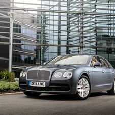 As emissões de CO2 do motor W12 do Bentley Continental Flying Spur foram reduzidas para 333g/km