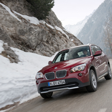 BMW has been caught testing an electric or hybrid X1 in the arctic