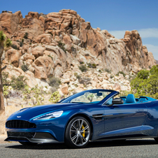 The Vanquish Volante will have its world debut