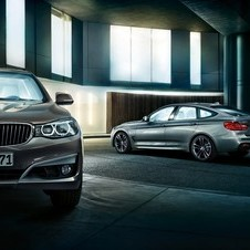 The GT also sits slightly higher than the standard 3 Series