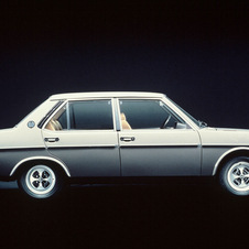 Fiat 131 Supermirafiori 1600 4-door saloon