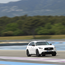 The crossover sits at the top of the the range for Infiniti in Europe