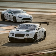 The Continental GT3 took fourth in its first race