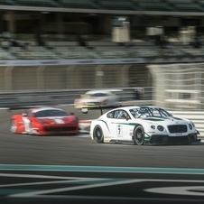 The car will race in the Blancpain Endurance Series in 2014