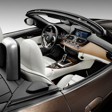 The car gets swathes of Nappa leather in the entire