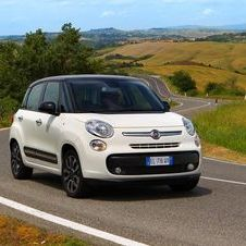 The new 500L will reach the European markets by the end of 2012.
