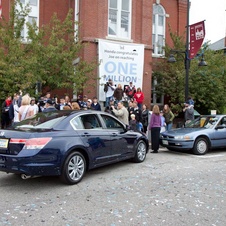 Honda Celebraes Owner's 1 Million Mile Accord with Surprise Parade