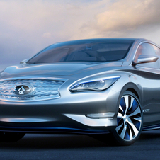 Infiniti showed the LE Concept last year that will inspire the new, small car