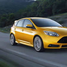 The Focus ST has more power and better economy than its main competitor - the Golf GTI