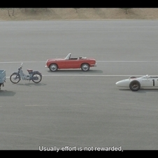 The Honda S600, RA271 and Honda Cub