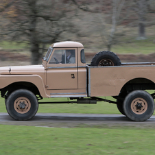 Land Rover Series II 129 Pick Up