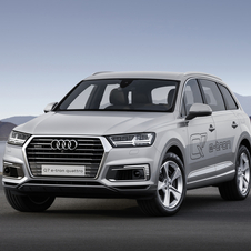The new Q7 e-tron 2.0 TFSI quattro will be unveiled at the Shanghai Motor Show