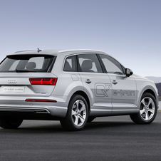The new  petrol-electric system will debut first on the Q7 model range, but will then be introduced in other models
