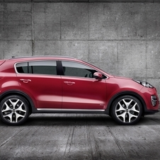 According to Kia, the new Sportage rear design was based on the 2013 Provo concept