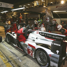Audi and Toyota will be fighting on track for the first WEC race