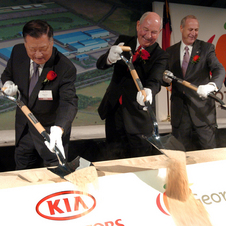 Kia has also begun making cars in the US