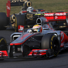 McLaren is just 7 points a way from overtaking Ferrari