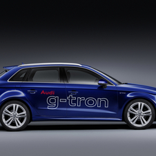 The e-gas is produced by Audi and is produced using green electricity