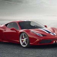 Ferrari is upgrading the 458 with a more powerful engine