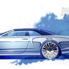 The car is inspired by the Bentley S3 from the 60s