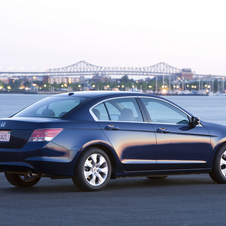 Honda Accord EX-L 5-Spd AT (USA)