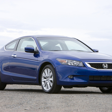 Honda Accord EX-L V-6 5-Spd AT (USA)