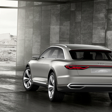 The plug-in petrol-electric hybrid Prologue Allroad has a 734hp output and 900Nm of torque